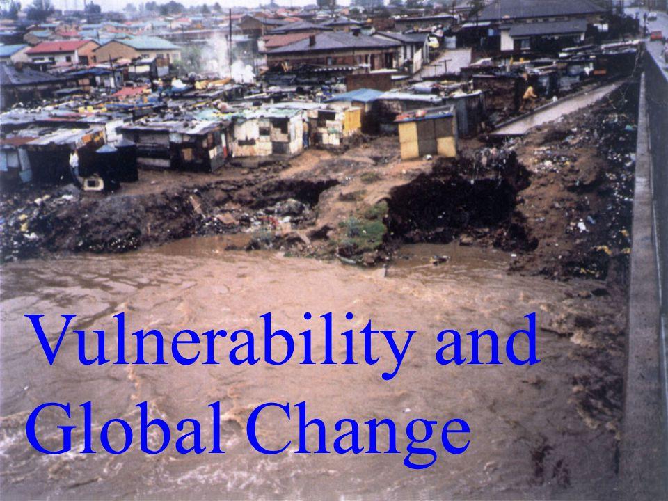 Vulnerability and Global Change