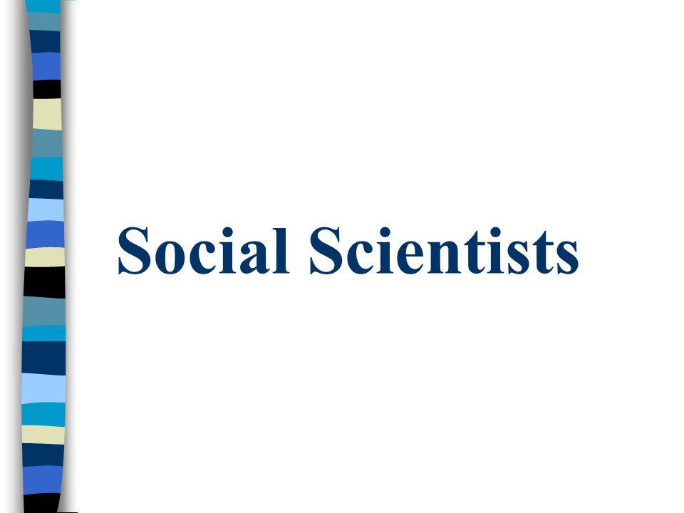 Social Scientists