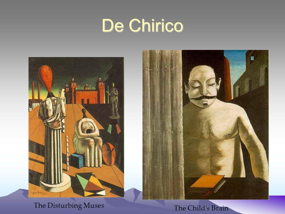 De Chirico The Disturbing Muses The Child's Brain