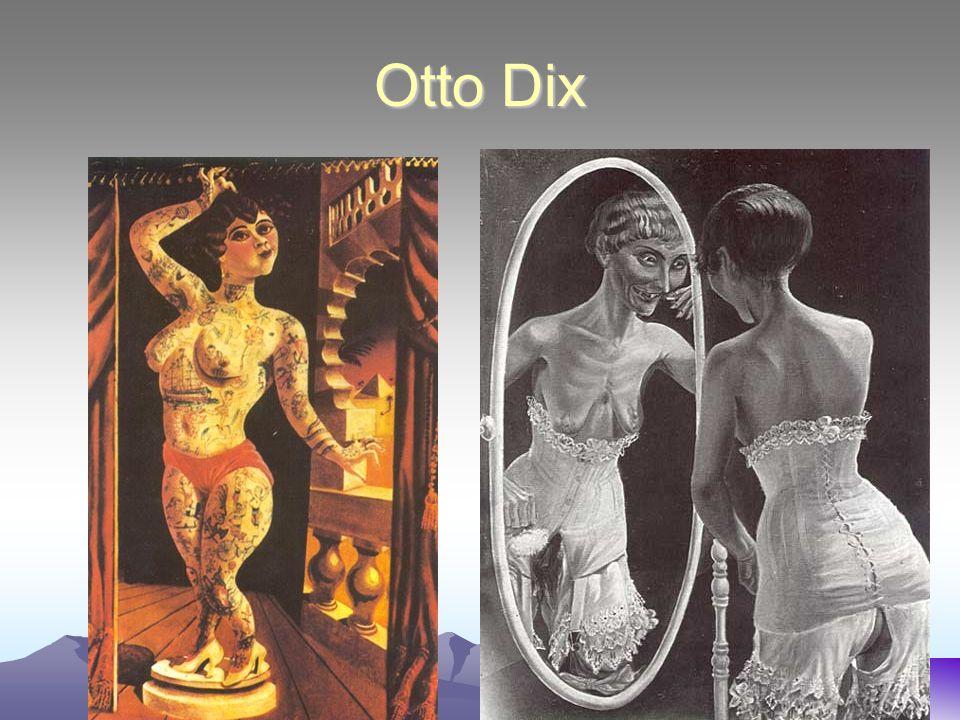 Otto Dix Suleika, The Tattooed Wonder At The Mirror
