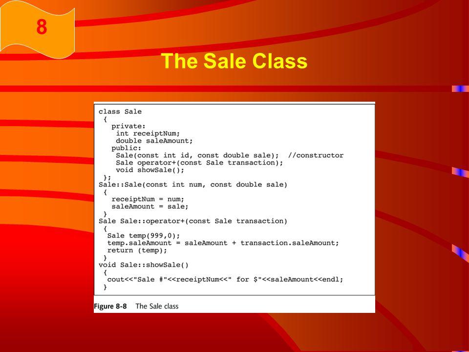 The Sale Class 8