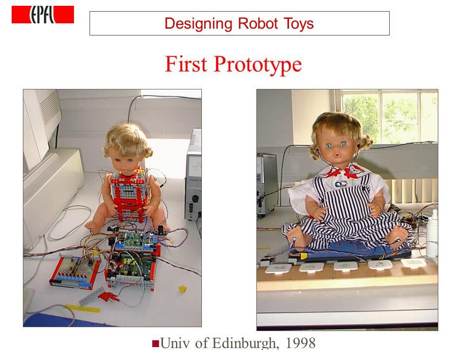 http://lasa.epfl.ch A.G. Billard, Autonomous Robots Class Spring 2007 First Prototype Univ of Edinburgh, 1998 Designing Robot Toys