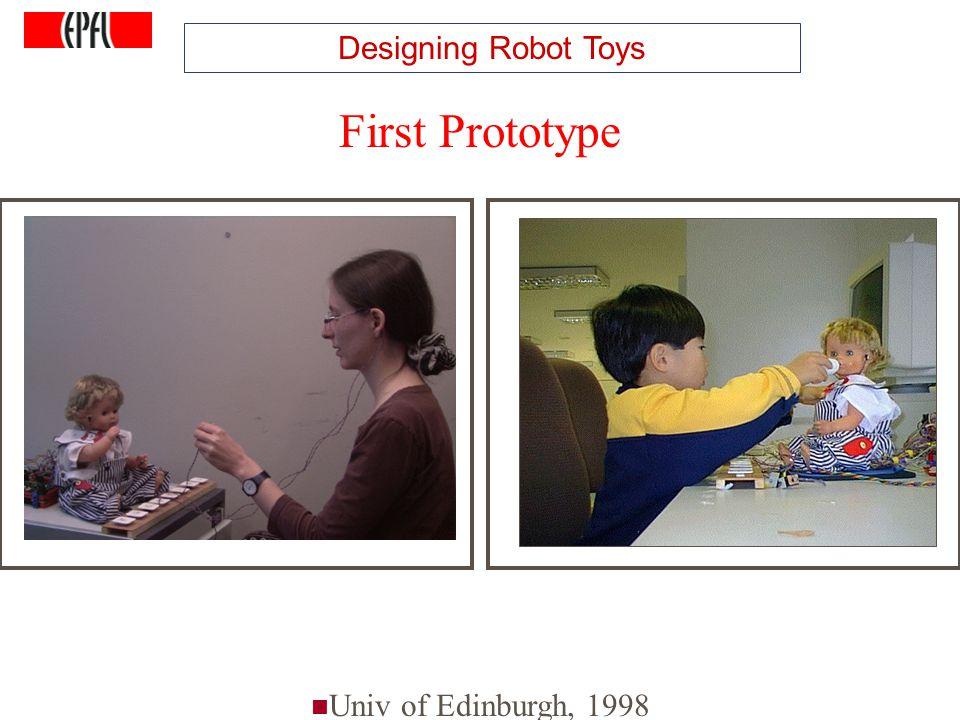 http://lasa.epfl.ch A.G. Billard, Autonomous Robots Class Spring 2007 Learning Dance Movements Univ of Edinburgh, 1998 First Prototype Designing Robot
