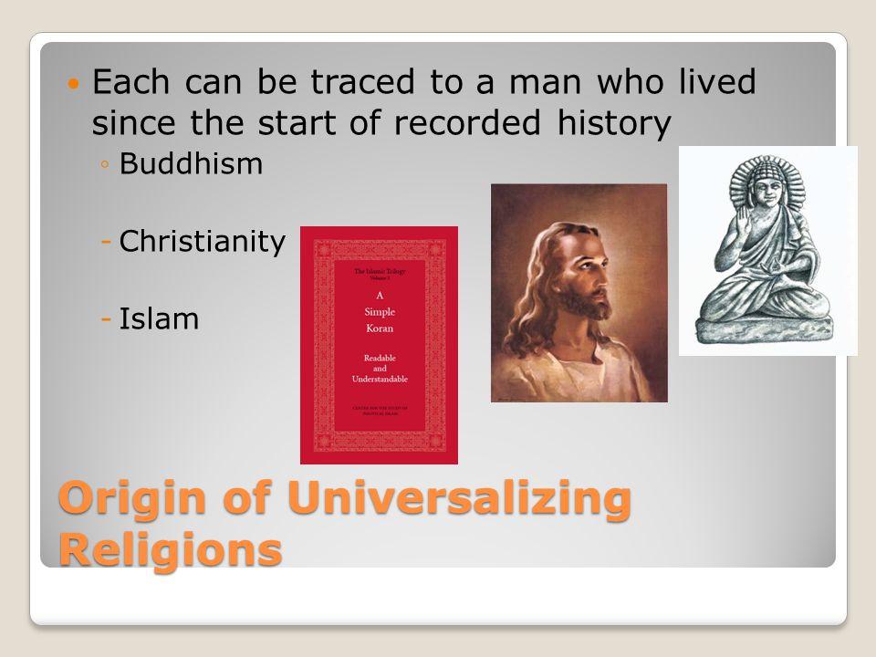 Origin of Christianity Jesus The four Gospels of the Christian Bible ◦Matthew ◦Mark ◦Luke ◦John