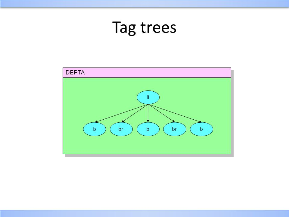 DEPTA Tag trees li bbbbr