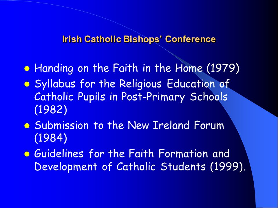 Defining Catholic Education