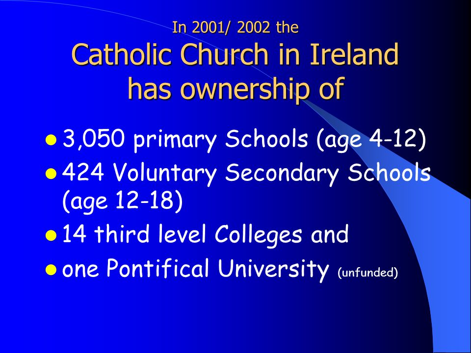 Structure of Schools in Ireland