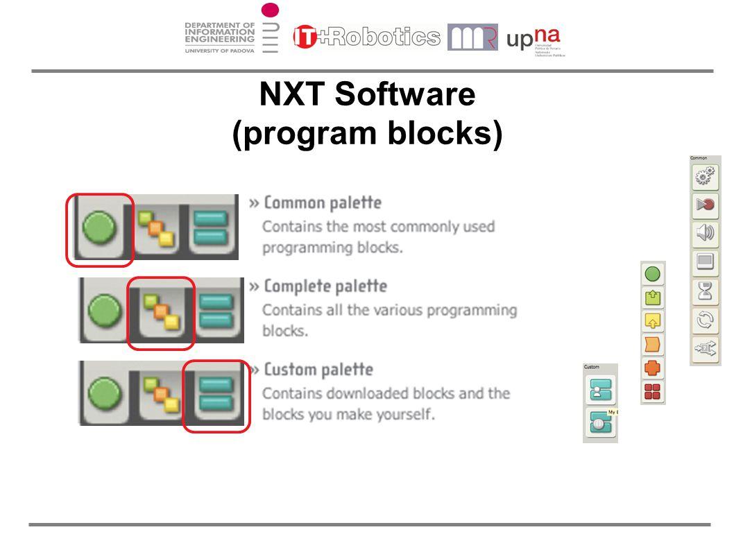 NXT Software (program blocks)