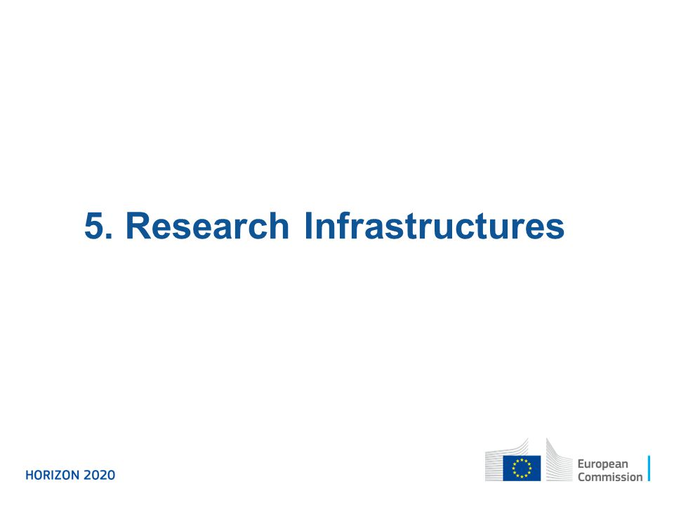 5. Research Infrastructures
