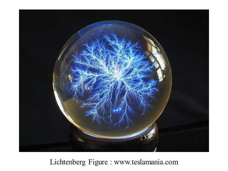 Lichtenberg Figure : www.teslamania.com