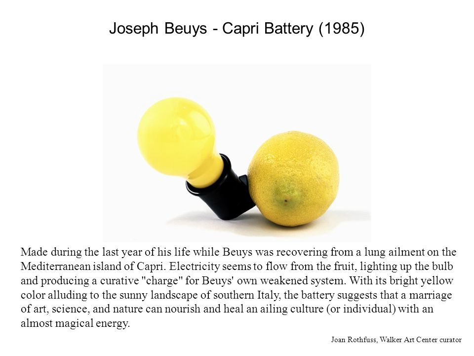 Beuys remarked in 1958 that the two terms, art and science, are diametrically opposed in the development of thought of the Occident, and because of this fact, a dissolution of this polarity of perception had to be looked for.