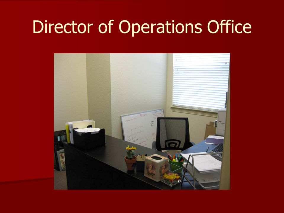 Director of Operations Office