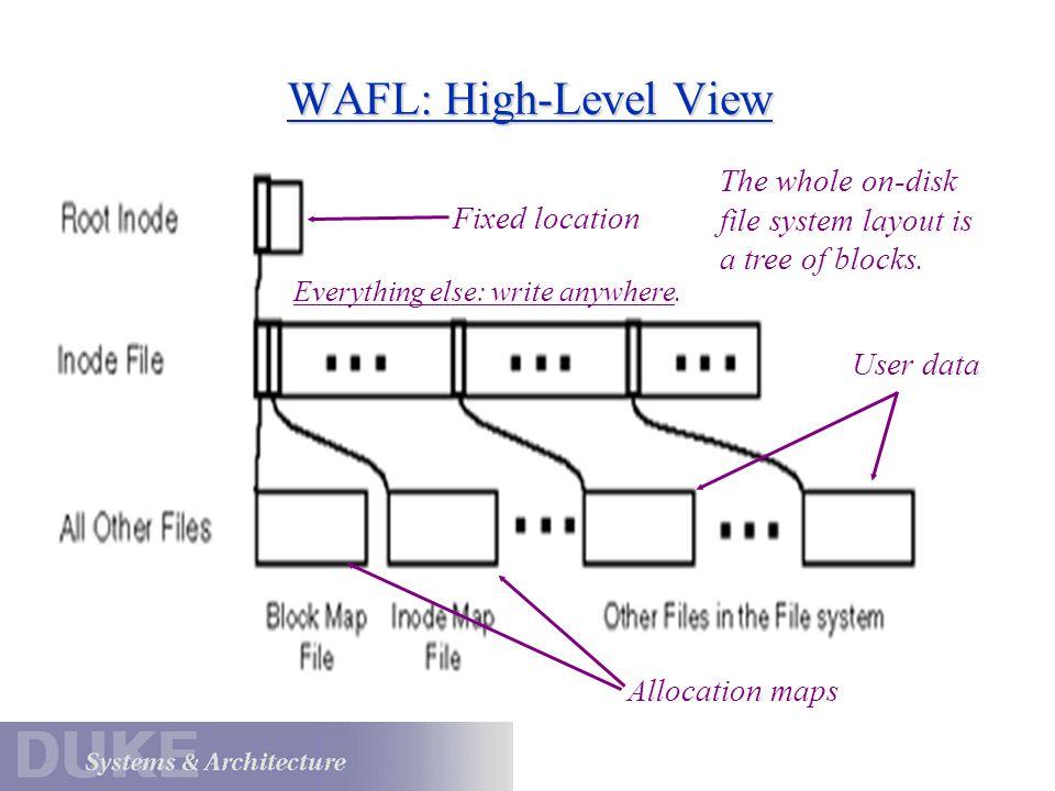 WAFL: A Closer Look