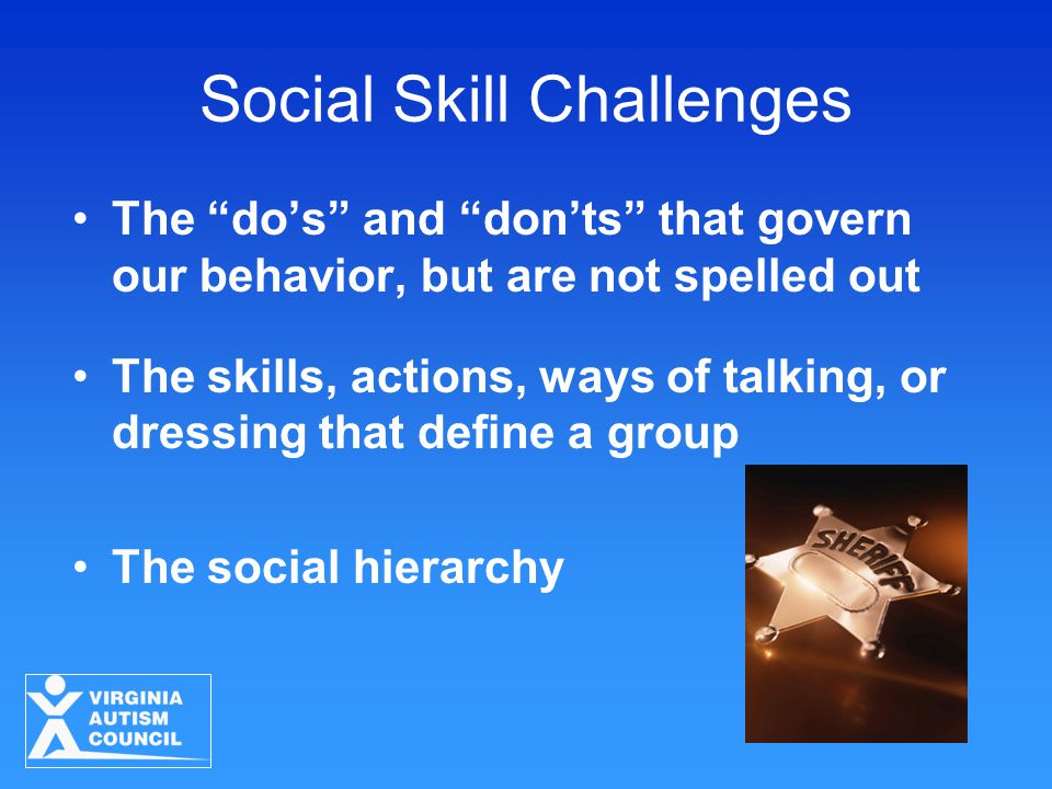 "The ""do's"" and ""don'ts"" that govern our behavior, but are not spelled out The skills, actions, ways of talking, or dressing that define a group The so"