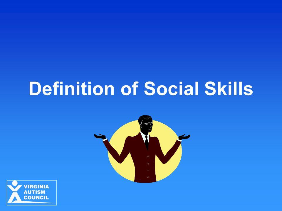 Definition of Social Skills