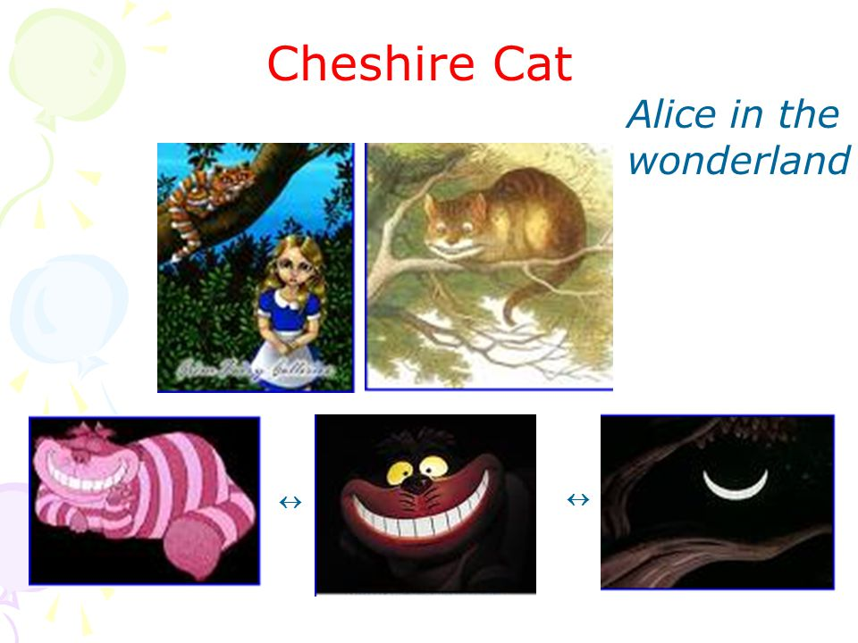 Alice in the wonderland   Cheshire Cat