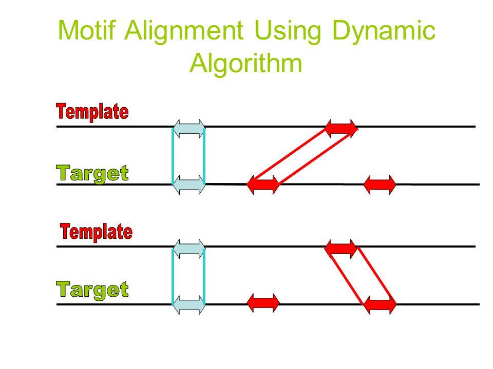 Motif Alignment Using Dynamic Algorithm