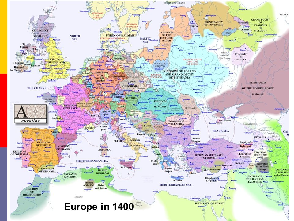 Europe in 1328