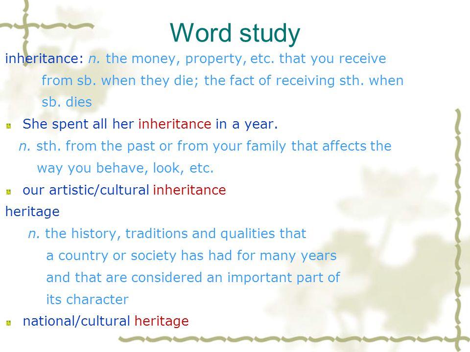 Word study 12.