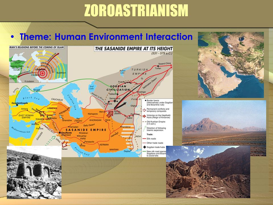 ZOROASTRIANISM Theme: Human Environment Interaction