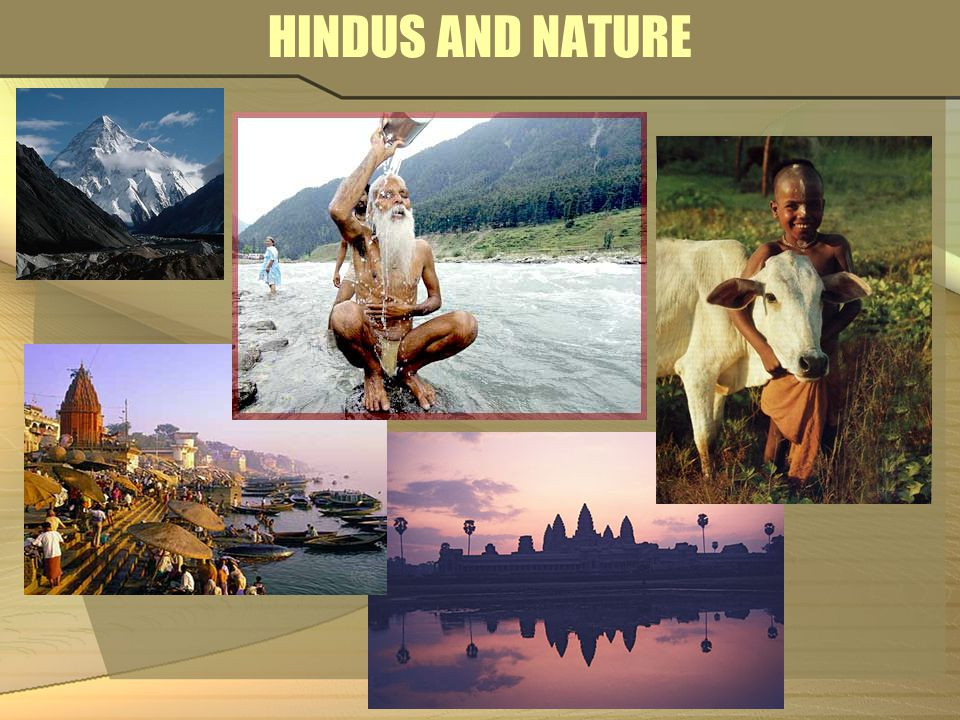 HINDUS AND NATURE