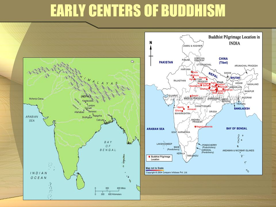 EARLY CENTERS OF BUDDHISM