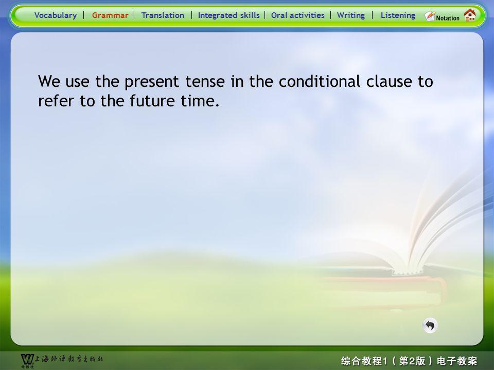 "Consolidation Activities- Grammar2.3 ""Be+coming"" can express the future time. VocabularyTranslationIntegrated skillsOral activitiesWritingListeningGra"