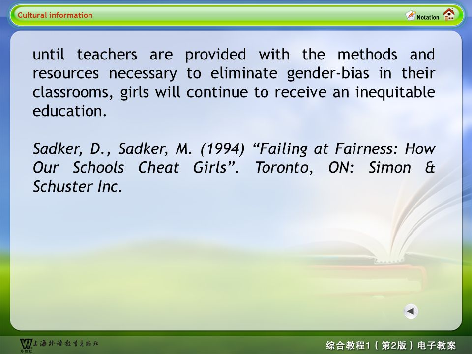 Lead-in questions 1.According to you, what are the gender differences between male and female.
