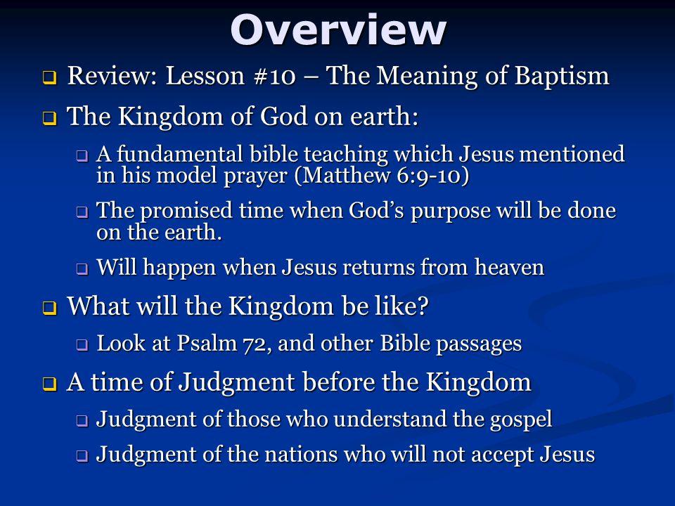 5.Jesus will deliver the poor and the weak. 5. Jesus will deliver the poor and the weak.