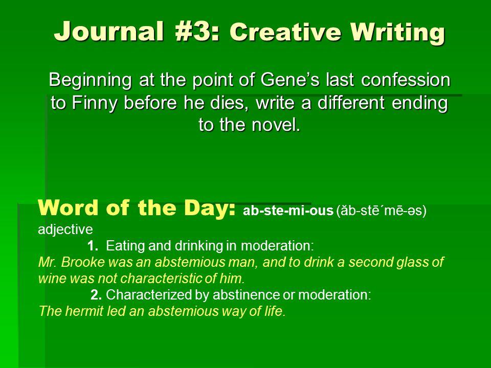 Journal #44: Read lines 21 – 35 of Creon's speech to the Chorus in Antigone.