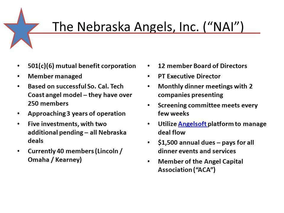The Nebraska Angels, Inc.