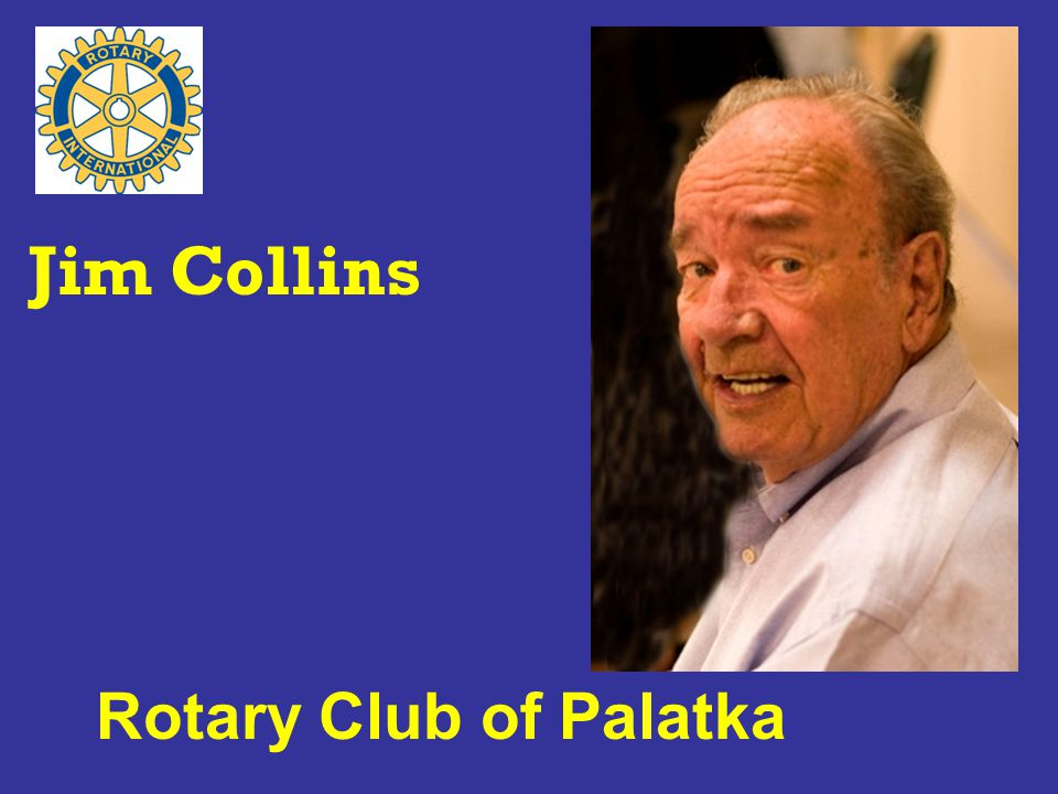 Rotary Club of Palatka Jim Collins