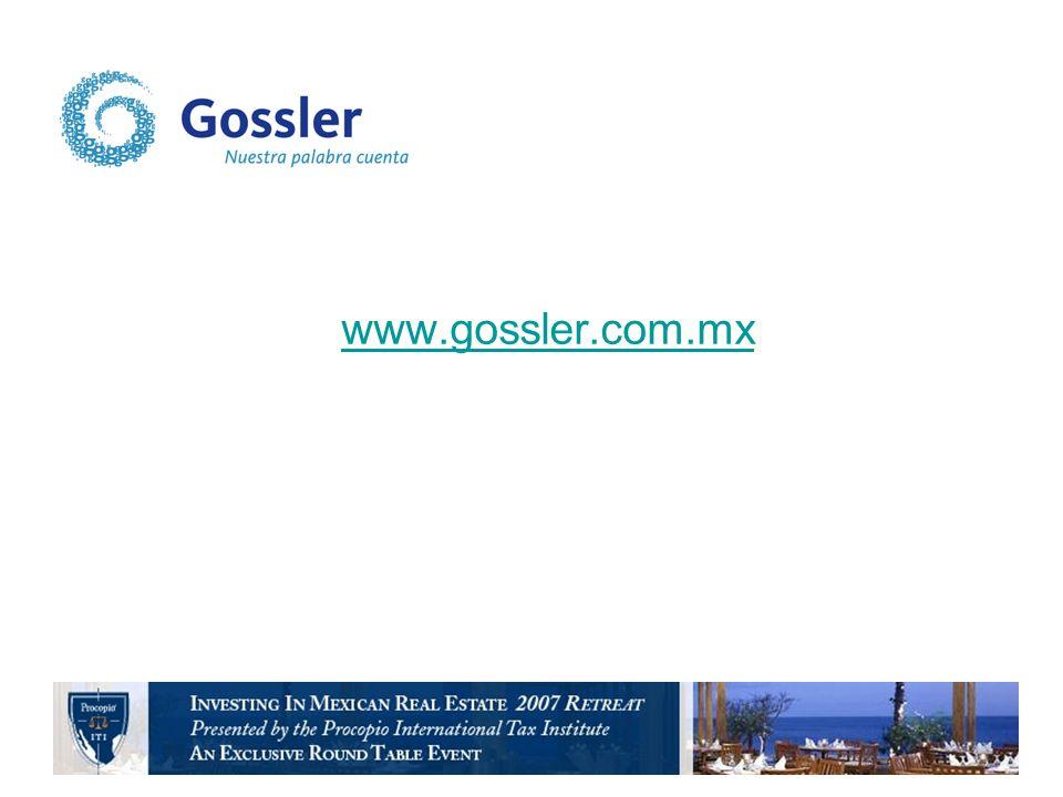 www.gossler.com.mx