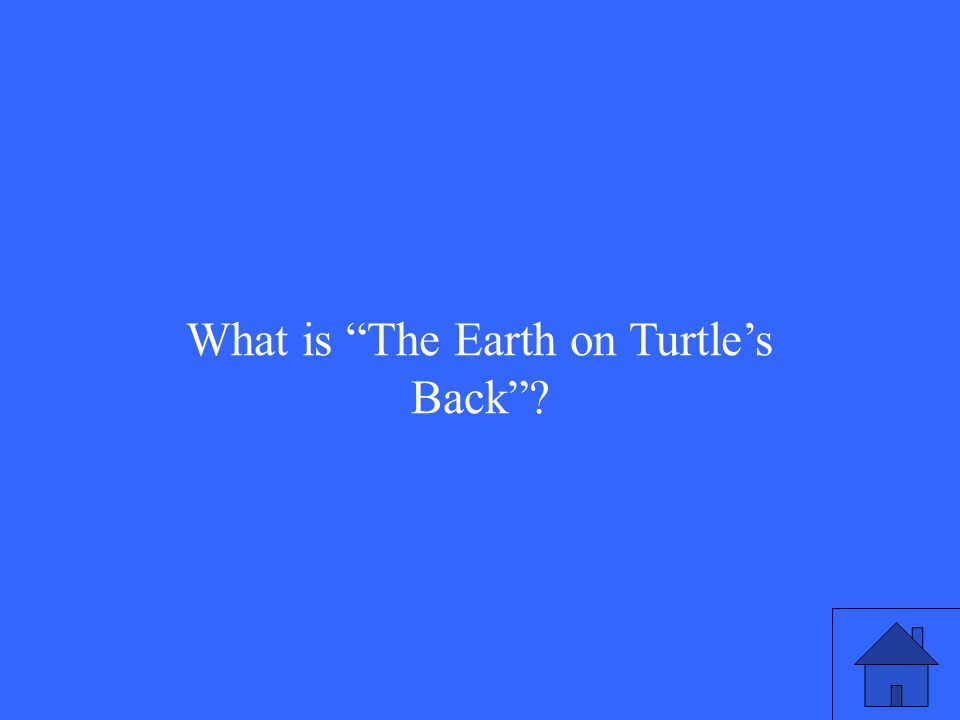 What is The Earth on Turtle's Back