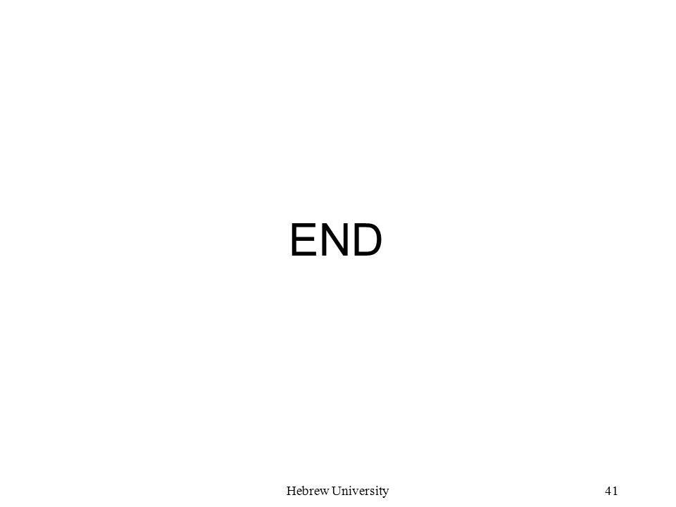 Hebrew University41 END