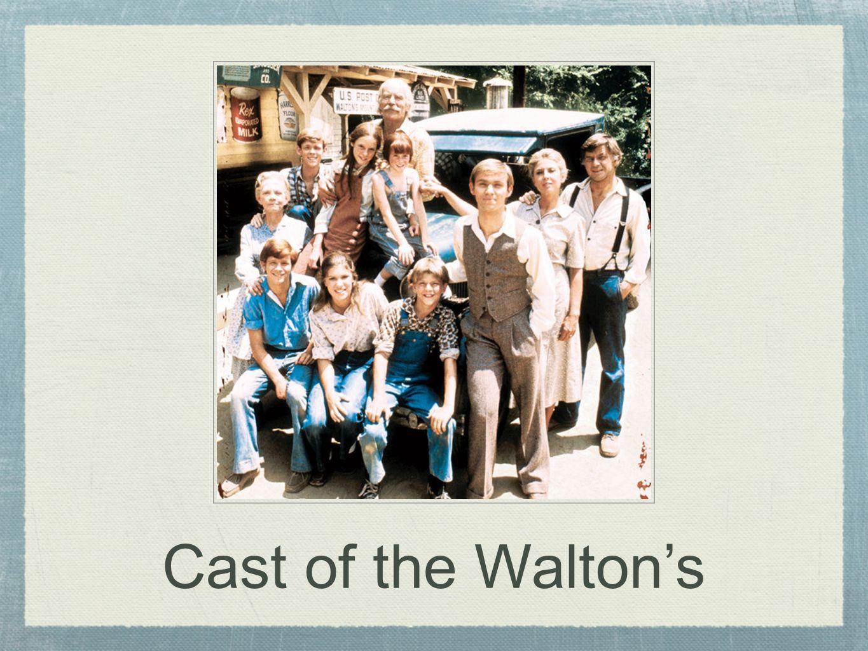Cast of the Walton's