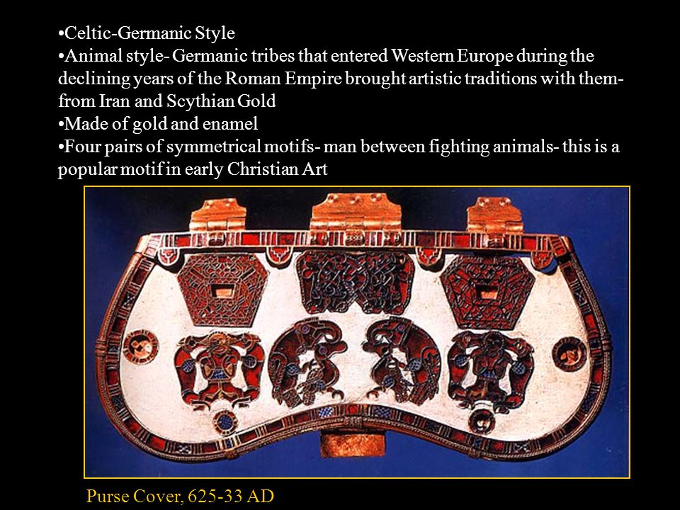 Details are realistic but surface is covered with lacy ornamentation Used to endow Viking ships with character of mythical sea dragons Animal Head, from Oseberg Ship-Burial c.