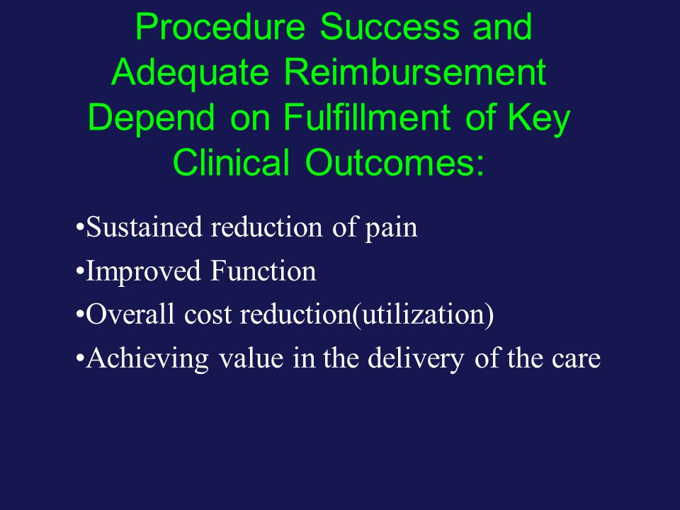 Among the requirements… Achieve sustained benefit IDing proper diagnosis and symptom complex in moderately refractory patients, at a time and evolution of the illness that assures reversibility.