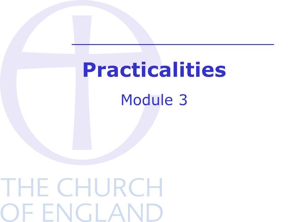 Practicalities Module 3