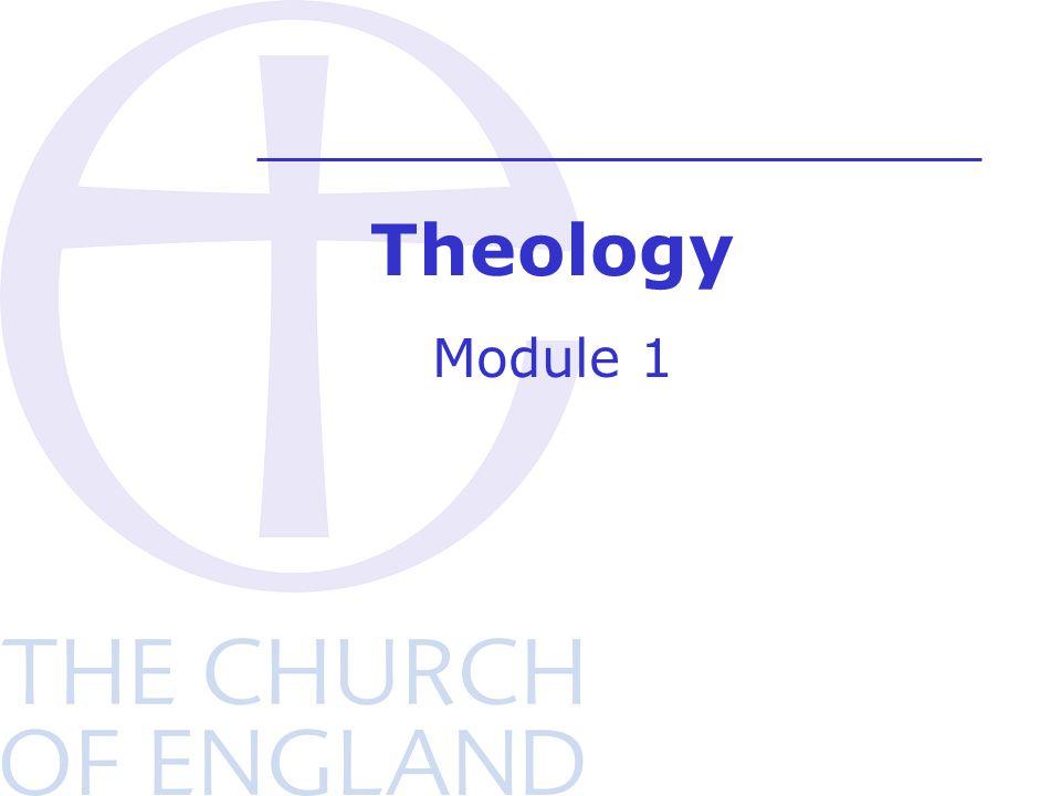 Theology Module 1