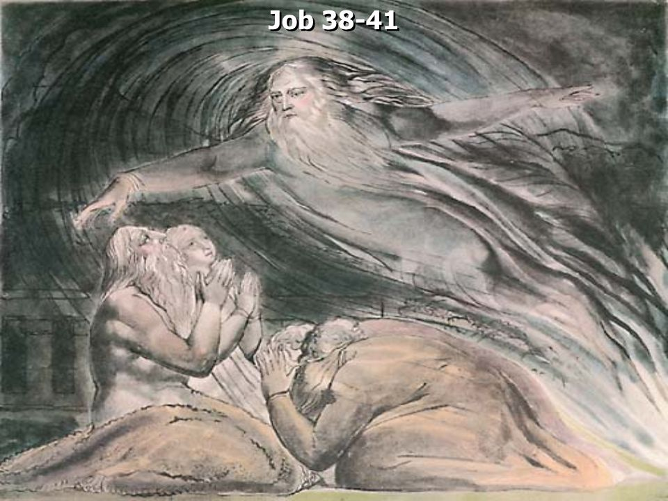 Job 38:1 Then the LORD answered Job out of the whirlwind, and said: 2 Who is this who darkens counsel By words without knowledge.