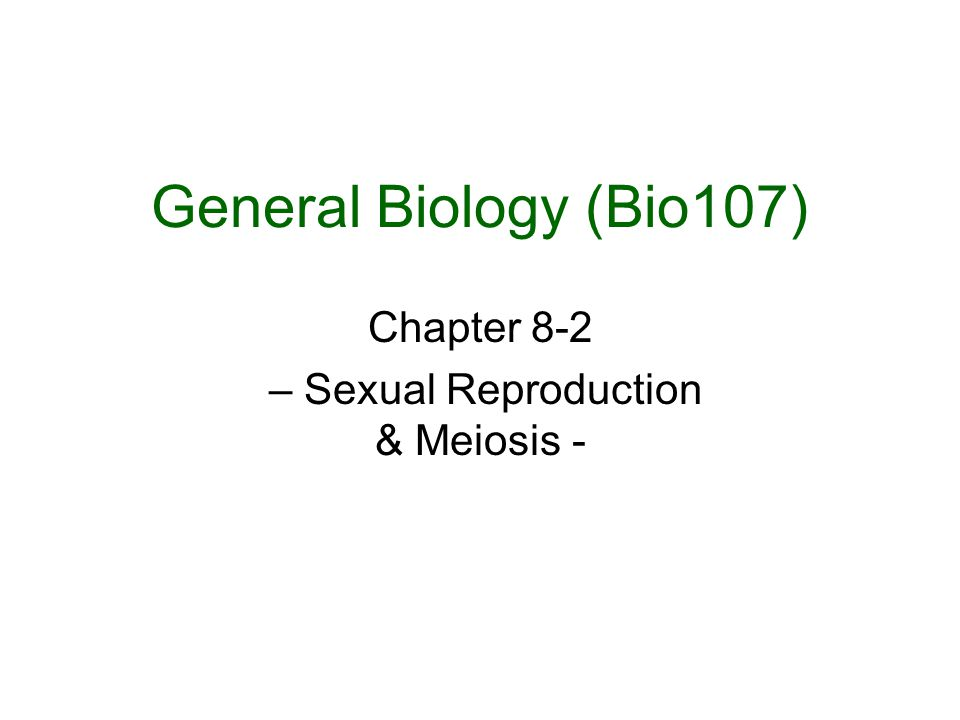 Diploid (2n) Gamete mother cell DNA-replication Tetrad formation & Crossing over Homologous chromosomes segregate Sister chromatids separate Haploid (1n) Gametes ( sperm or oocytes) Prophase I Metaphase I Anaphase I Random alignment of homologous chromosomes Prophase II Anaphase II Activation by FSH