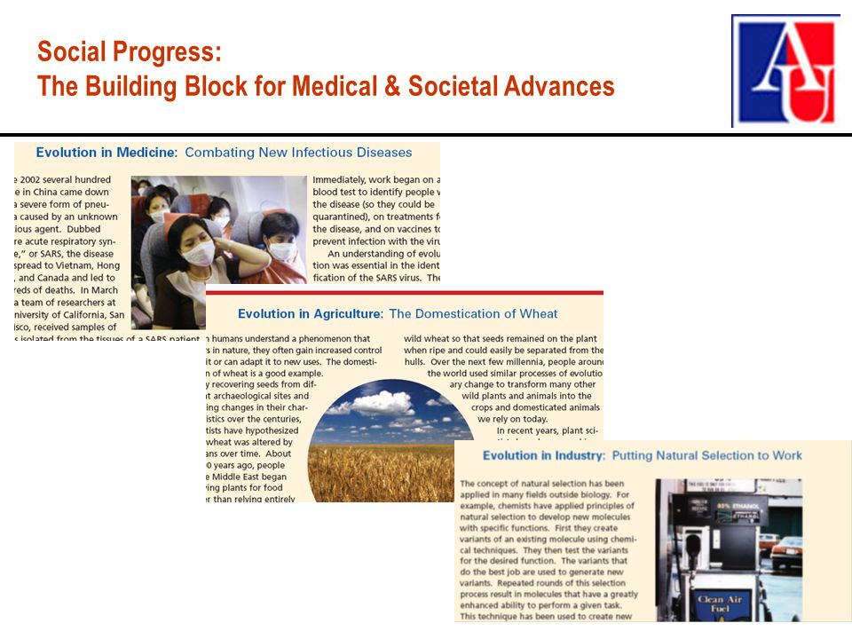 Social Progress: The Building Block for Medical & Societal Advances
