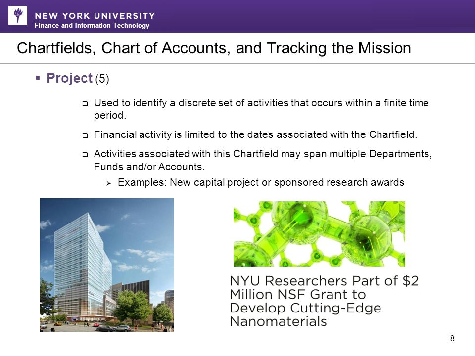 Finance and Information Technology Translating Current Poly COA to New NYU Structure 19 Link