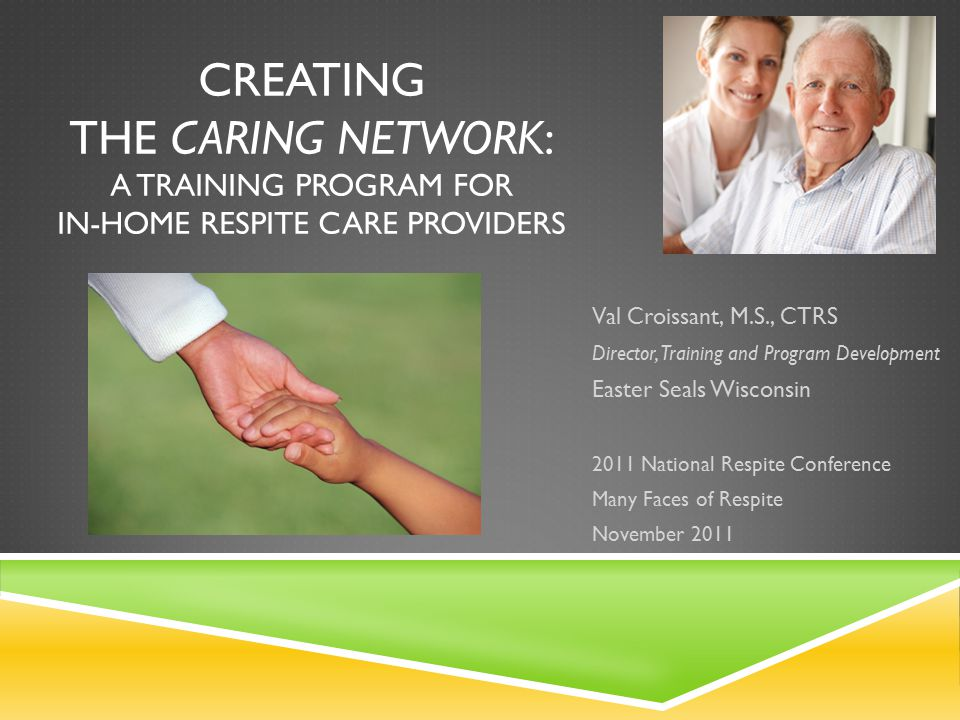 AGENDA  Wisconsin Lifespan Respite Care Project  Creating the Modules  Logistics  Registry