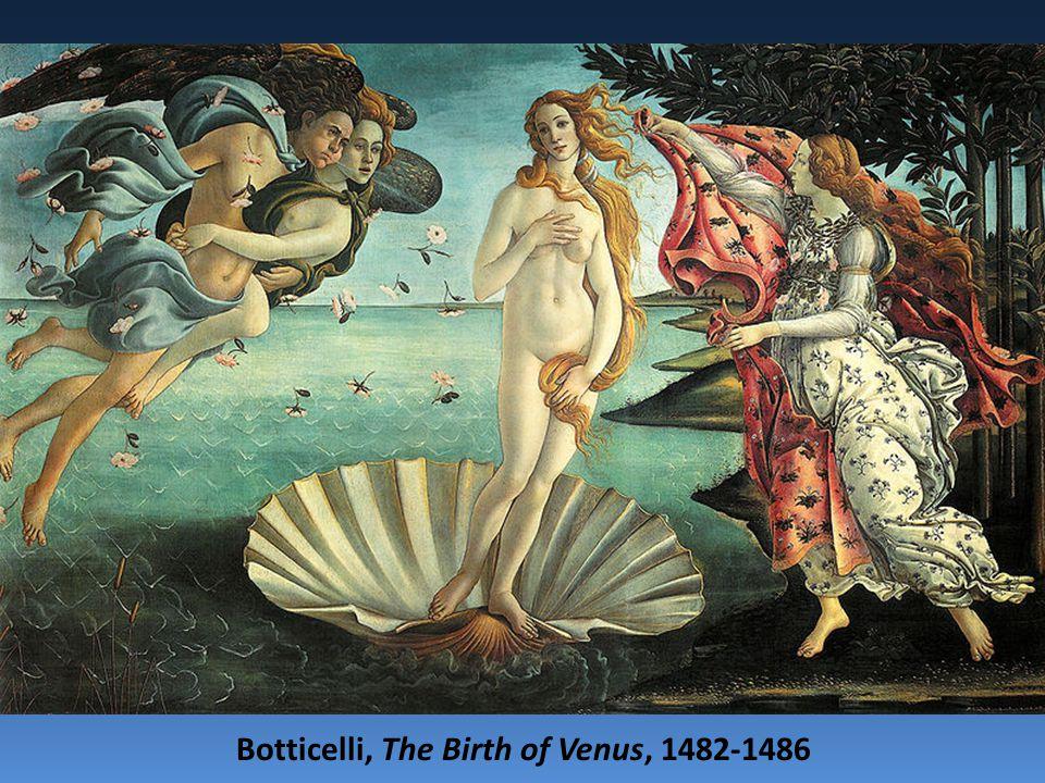 Botticelli, The Birth of Venus, 1482-1486