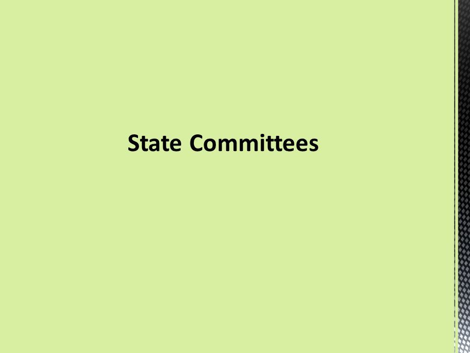 State Committees