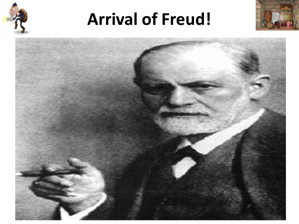 Arrival of Freud!