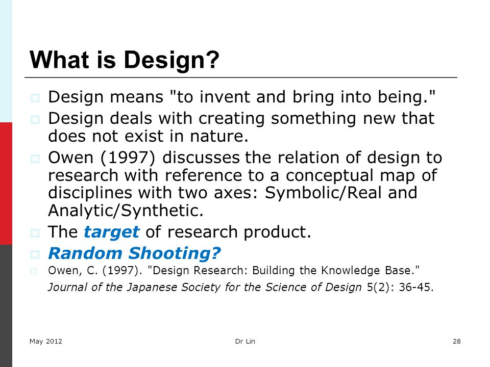 28 What is Design.