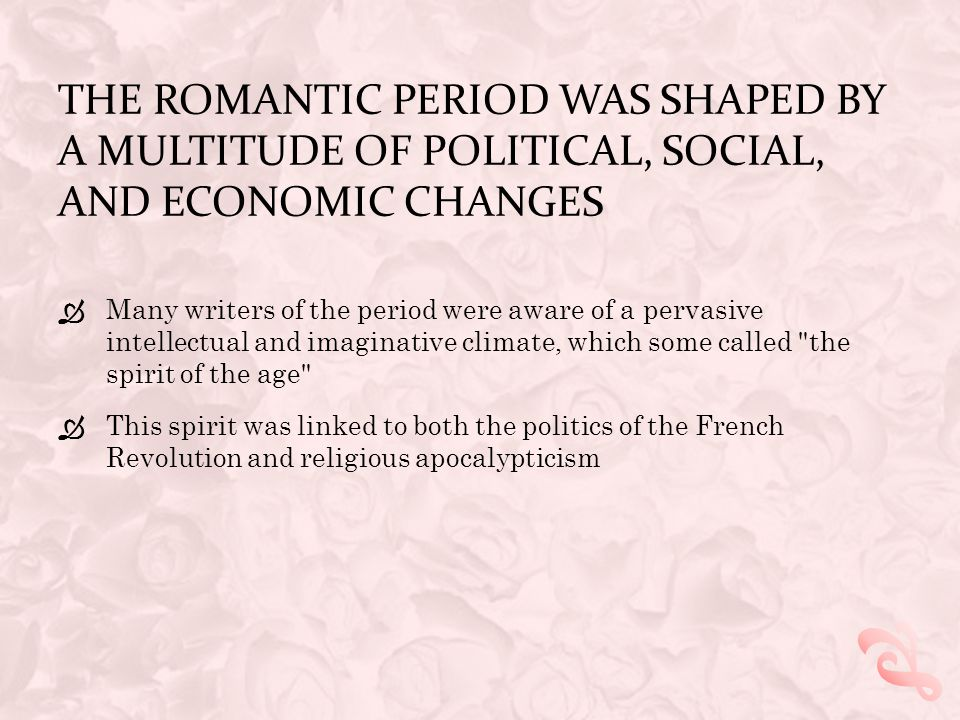 SOME OF THE BEST REGARDED POETS OF THE TIME WERE IN FACT WOMEN  Including: Anna Barbauld, Charlotte Smith, and Mary Robinson  Yet educated women wer